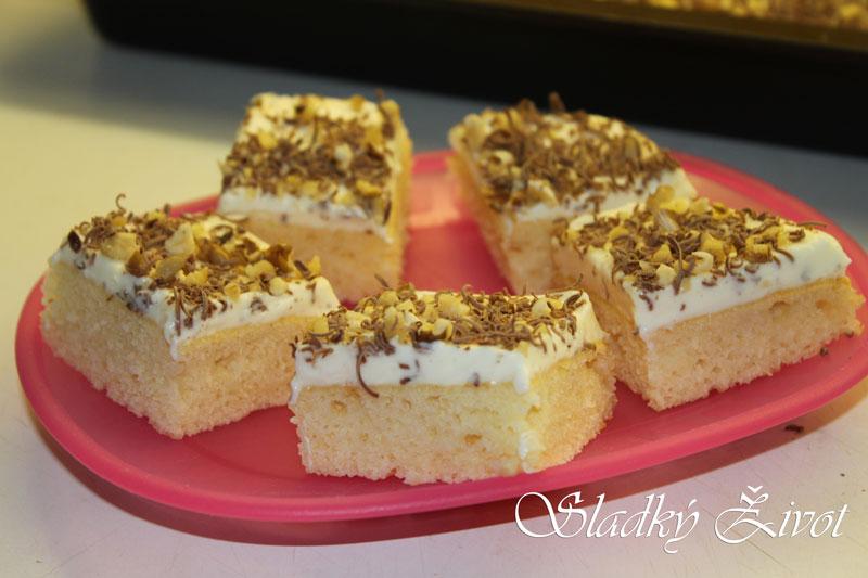 ananásový koláč, sladký život, recepty, koláče