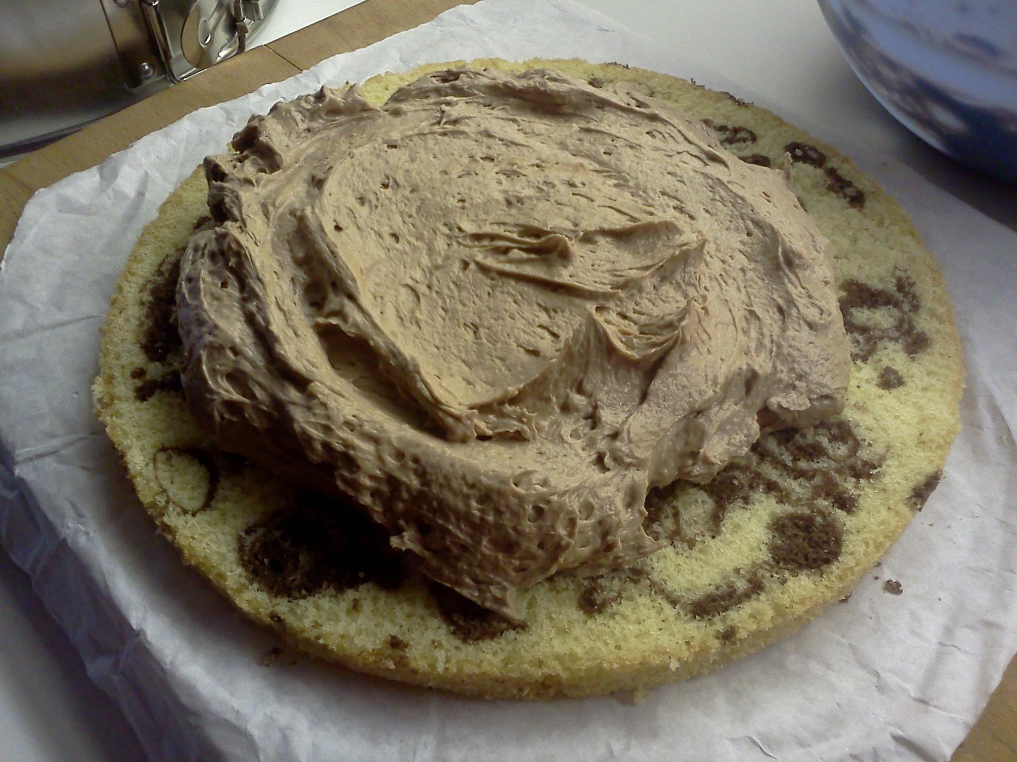 Nutelový krém, marcipánové torty, koláče, plnky, pečenie