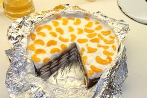 BB torta, nepečená, koláče, puding, smotana,marcipán, pre deti