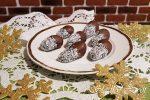 Medové šišky, nepečené cukrovinky, koláče, Sladký život, drobné koláčiky