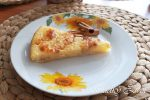 Bleskový tvarohový koláč s ovocím