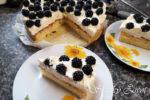 Černicová torta s mascarpone