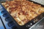 tvarohový koláč s jablkami a škoricou, sladký život, recepty