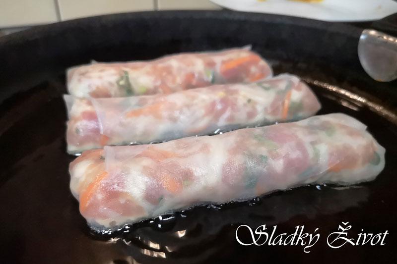 jarné rolky, ázijská kuchyňa, sladký život, overené recepty